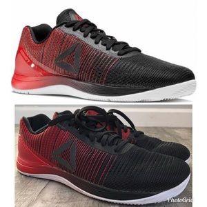 Reebok CrossFit Nano 7 Black Red, Size Men's 12